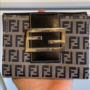 Fendi Navy Medium Wallet